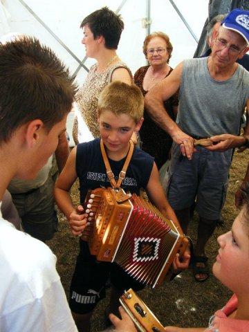 giovani suonatori a San Ruffino